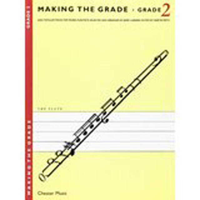 Making The Grade Book 2 Flute Piano Sheet Music Easy Popular Pieces Lanning S43