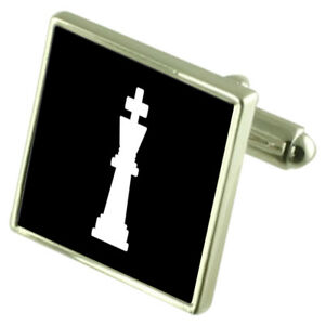 Select Gifts Faith England Heraldry Crest Sterling Silver Cufflinks Engraved Message Box