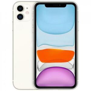 "Smartphone Apple Iphone 11 64GB Memoria 6.1"" White Bianco Slim Box Mhdc3zd/a"