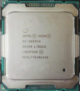 Intel Xeon E5-2603 V4 6C//6T 1.70GHz 6.4 GT//s QPI 85W FCLGA2011-3 Processor CPU