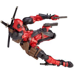 Kaiyodo-Revoltech-Amazing-Yamaguchi-Deadpool-Action-Figure-X-men-Toy-2020-New