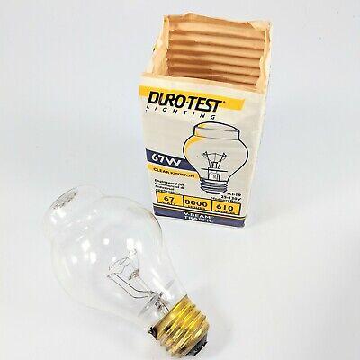 DURO-TEST 67W 125-130V AT19 Krypton V-Beam Traffic Light Bulb