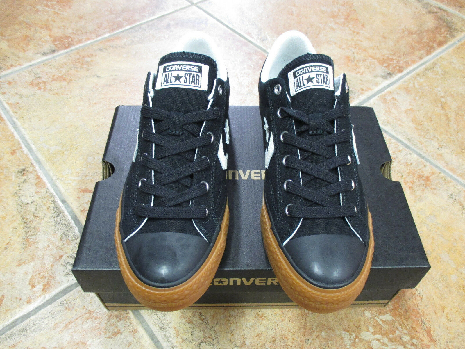 Converse Black Chuck All Star Player OX  Gr. 46 Black Converse Egret Honey 159741C NEU ee3a99