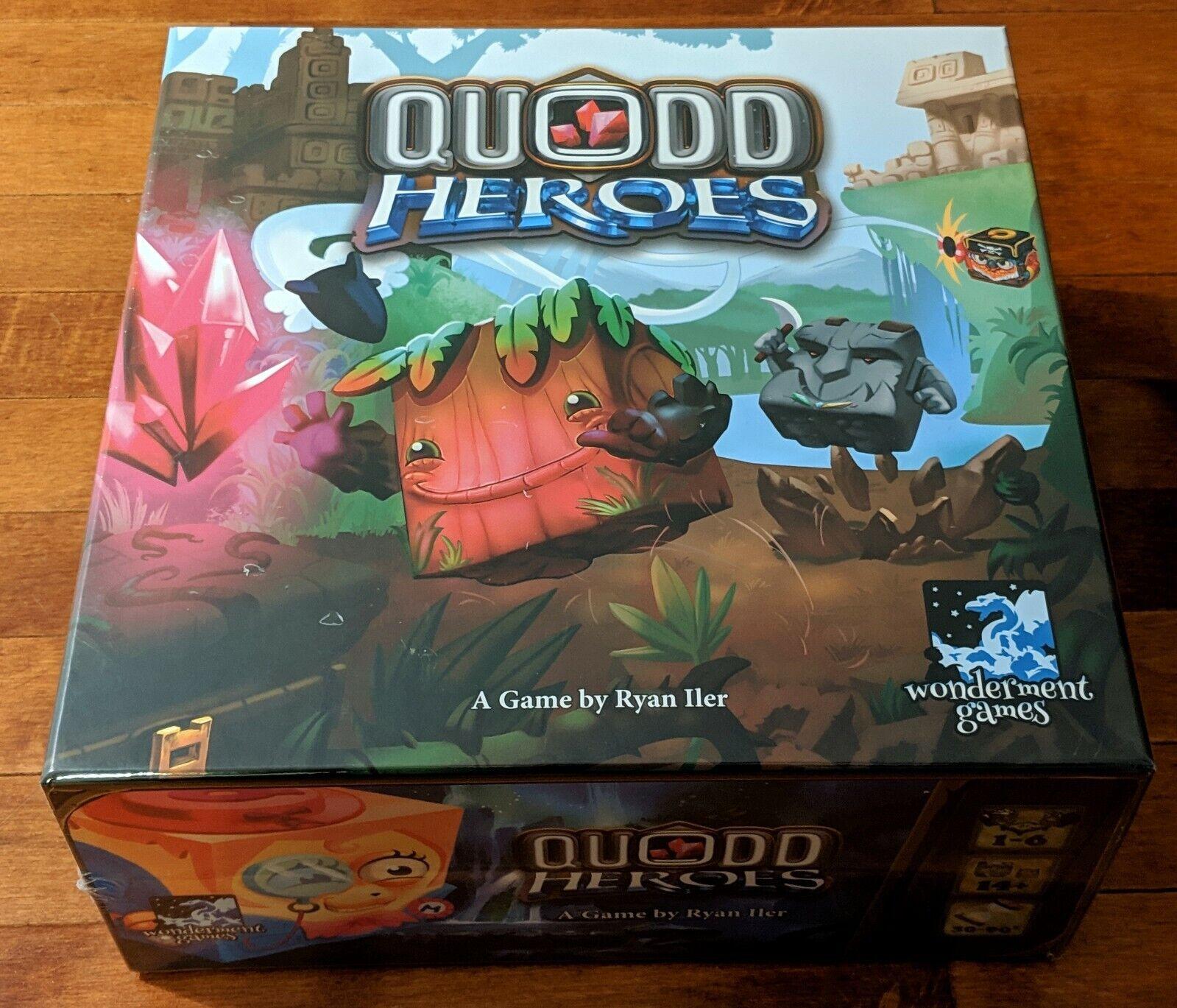 Quodd Heroes Deluxe pédale de  démarrage édition jeu de plateau à la main neuf scellé  promotions promotionnelles