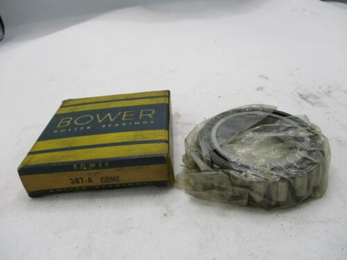 NEW OLD STOCK BOWER 387-A TAPERED ROLLER BERING CONE
