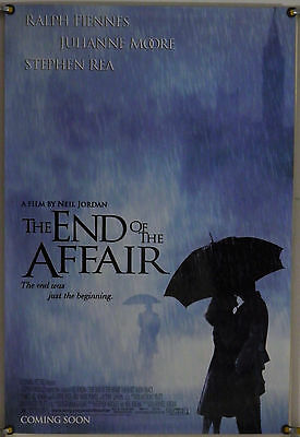 THE END OF THE AFFAIR DS ROLLED ORIG 1SH MOVIE POSTER RALPH FIENNES (1999)