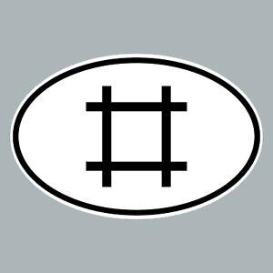 Etiquette-D-Baguettes-Sticker-Voiture-Marque-de-Pays-Refrigerateur-Depeche