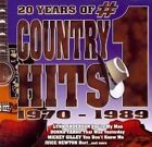20 Years Of No 1 Country Hits 70-89 0778325222727 CD