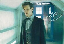 MATT SMITH ELEVENTH DOCTOR WHO SIGNED AUTOGRAPH 6 x 4 inches PRE PRINED PHOTO