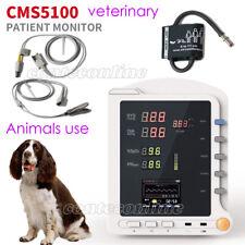 Contec Cms5100 Veterinary Patient Monitornibpspo2tempanimals Use