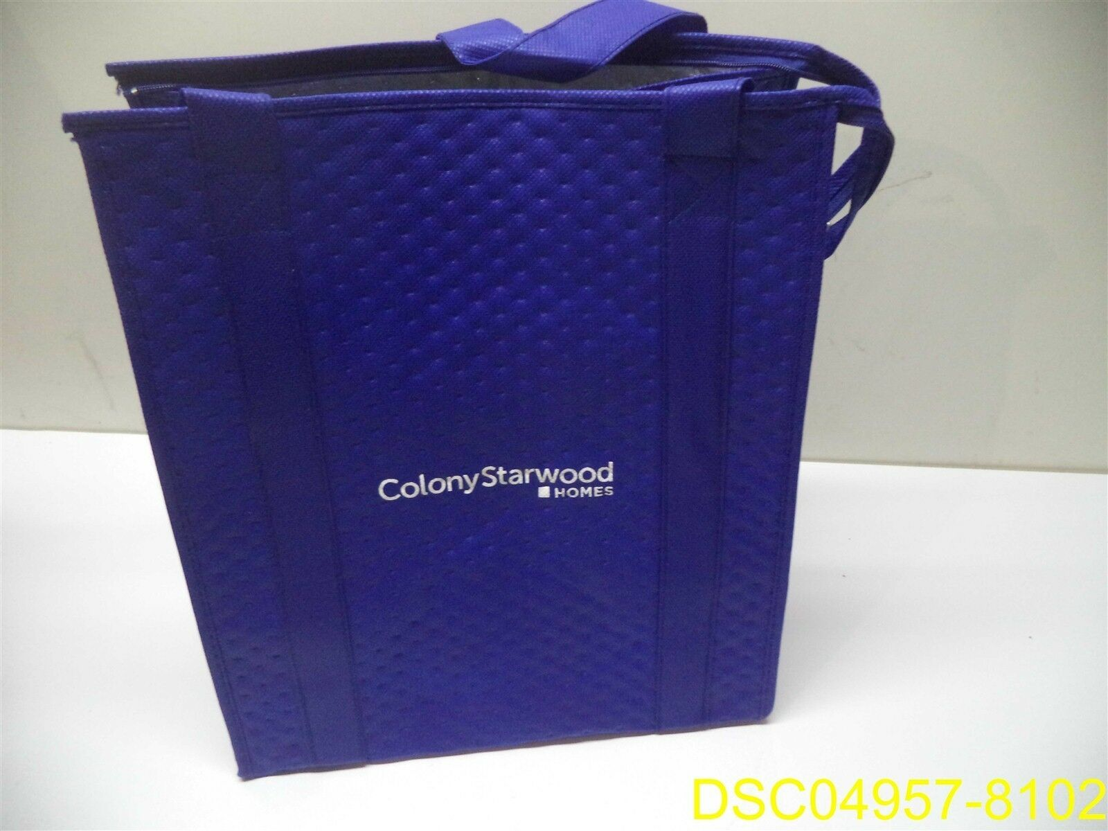 Qty = 20  bleu Insulated Thermal Bags 13   x 9.5  x 15  tall