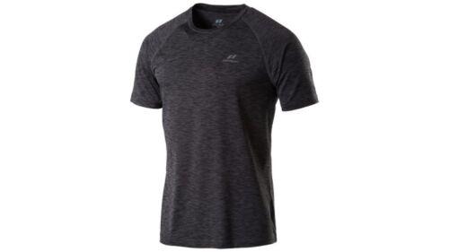 Pro Touch Herren T-Shirt Rylu Dry-Plus Eco Laufshirt Runningshirt Schwarz Neu
