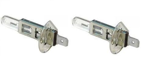 Pair of 2 Lucas H1 // 448 Bulb Halogen 12v 55w Headlight Full Beam Main Low