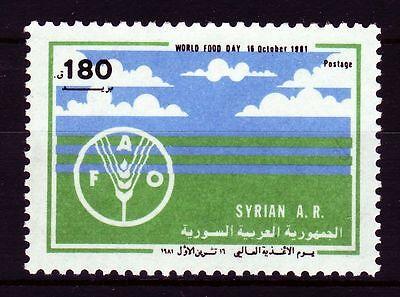 Briefmarken Syrien Syrien Syria 1981 ** Mi.1525 Welternährungstag Fao World Food Day In Vielen Stilen