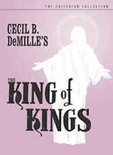 DVD: The King of Kings (The Criterion Collection), Cecil B. DeMille. Good Cond.: