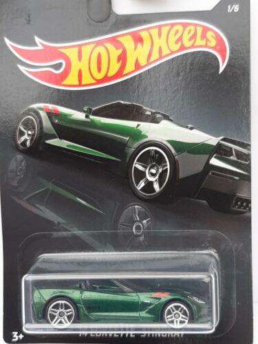 Hotwheels basic exotics Neuf en boite. 2014 Corvette stingray