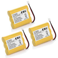 3 Pack Cordless Home Phone Battery for AT&T/Lucent 3300 3301 Vtech 80-5071-00-00