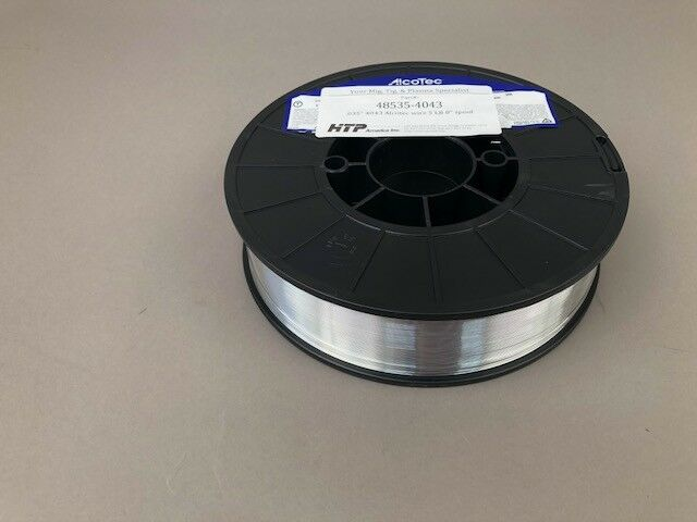 "Made in the USA .047/"" 5356 Alcotec Aluminum Wire 5lb 8/"" Spool 3//64"