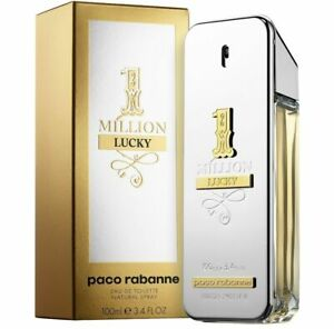 One-1-Million-Lucky-by-Paco-Rabanne-EDT-for-Men-3-4-oz-100-ml-NEW