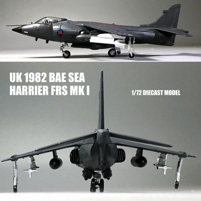 1//72 Amer British Royal Navy Bae Sea Harrier Frs Mk I 1982 Diecast Toys Model