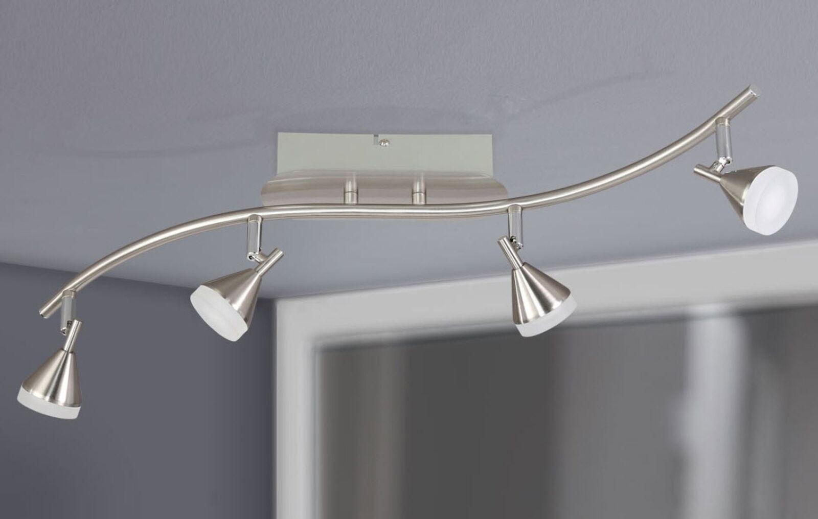 LED Lampada da soffitto soffitto soffitto Plafoniera 4 FLMG. FARETTO Spot Wofi Cameron 9796.04.64.0000 e70d69