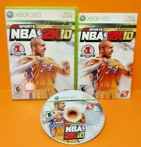 NBA-2K10-Tenth-Anniversary-Microsoft-Xbox-360-Rare-Game-Kobe-Bryant-Tested