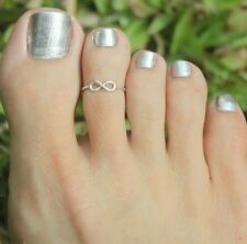 FASHION WOMEN SILVER PLATED TOE RING FOOT FINGER RING JEWELRY ACCESSORIES GIFTS