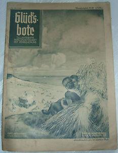 Antiquitäten & Kunst Kenntnisreich Sehr Seltene Zeitschrift Glücksbote Illustrierte Familienzeitschrift Nr.14/1936