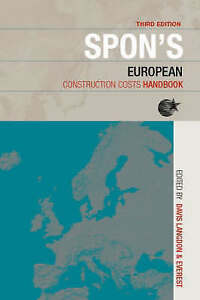 Good-Spon-039-s-European-Construction-Costs-Handbook-Spon-039-s-International-Price-B