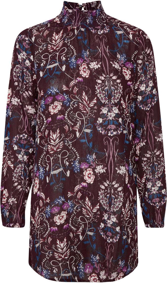 KAFFE   10503001 Tunika - Kleid   DEEP WINE    38 - M (L)