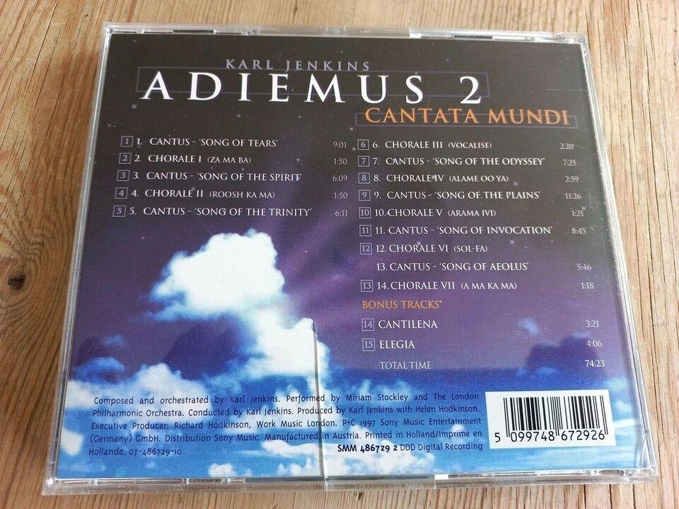 Karl Jenkins:: Adiemus II, III, IV