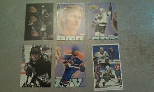 Wayne-Gretzky-THE-GREAT-ONE-Oilers-Kings-NHL-RARE-ODDBALL-UPDATED-YOU-PICK