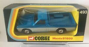 Vintage-Corgi-Toys-Modelo-No-493-Mazda-B1600-Pick-up-Nr-Menta