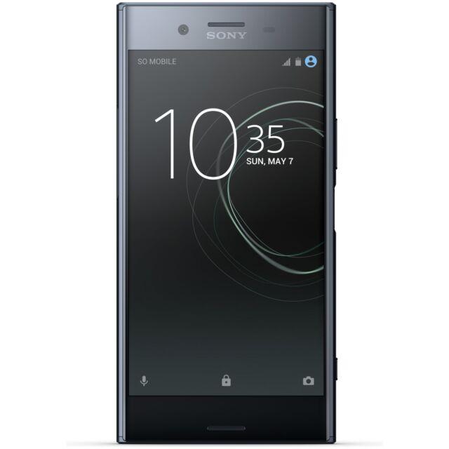 580c653f75d SIM Free Sony Xperia XZ Premium 5.5 Inch 64GB 4GB 13MP Mobile Phone Black