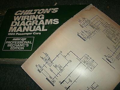 1986 chrysler lebaron dodge lancer wiring diagrams schematics sheets set   ebay