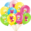 BABY-SHARK-THEMED-12-034-LATEX-BALLOON-DECORATIONS-SAME-DAY-DISPATCH-UK-SELLER miniatura 4