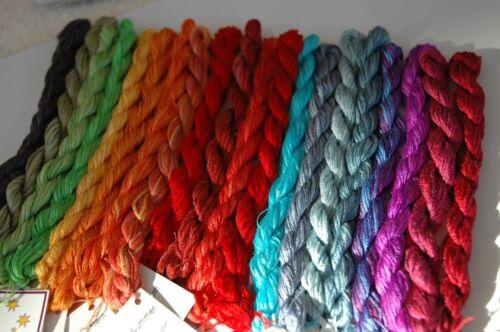 Dinky-Dyes Silk 10 skeins