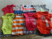 13 Pc. Lot Of Newborn Baby Boy Clothes 0-3 Months $180
