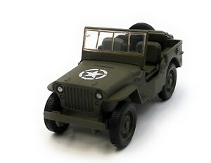 Maquette-de-Voiture-Armee-Van-Armee-Vehicule-Vert-Auto-1-3-4-39-Licence