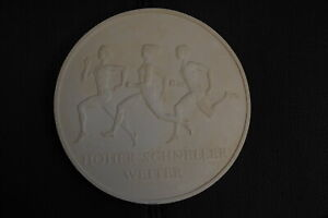 Rda Münzentwurf De Yeso 10M 40 Años Turn- Y Sportbund 1988 55030