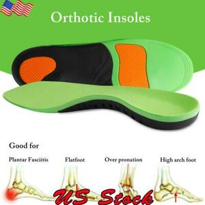 Orthotic-Insoles-Flat-Foot-High-Arch-Heel-Support-Plantar-Feet-Inserts-Pads-Gel