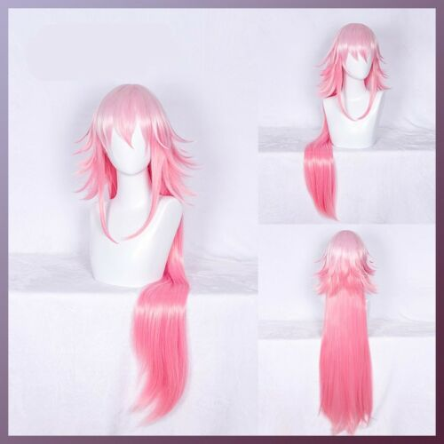 Gaming Honkai Impact 3 Yae Sakura Cute Long Hair Cosplay Wig With Hairnet