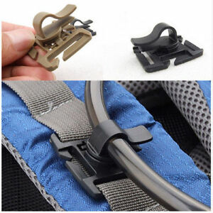 1pcs//5pcs Tactical MOLLE D-Ring Locking Buckle Plastic Carabiner Belt Clip