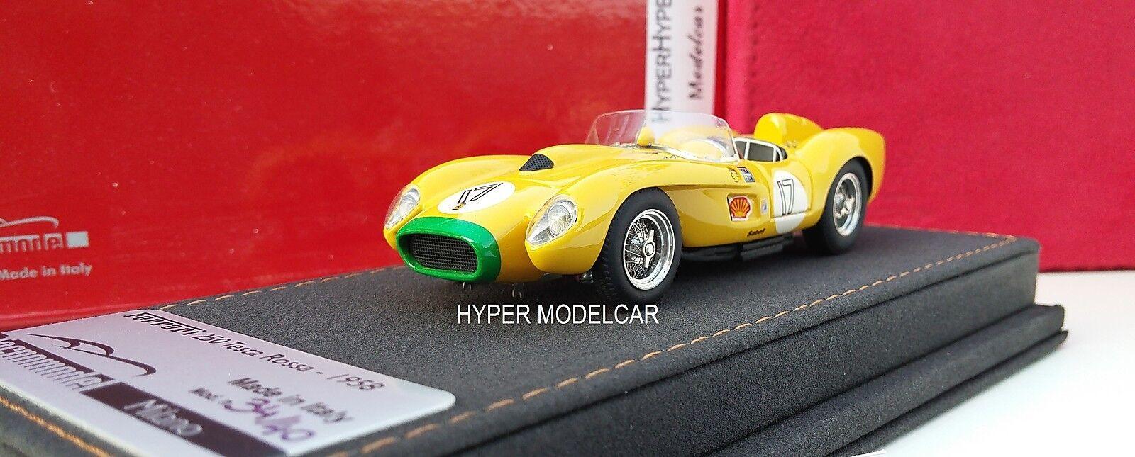 TECNOMODEL 1 43 Ferrari 250 TR  17 24H Le Mans 1958 Art.T-MI24AS - no bbr
