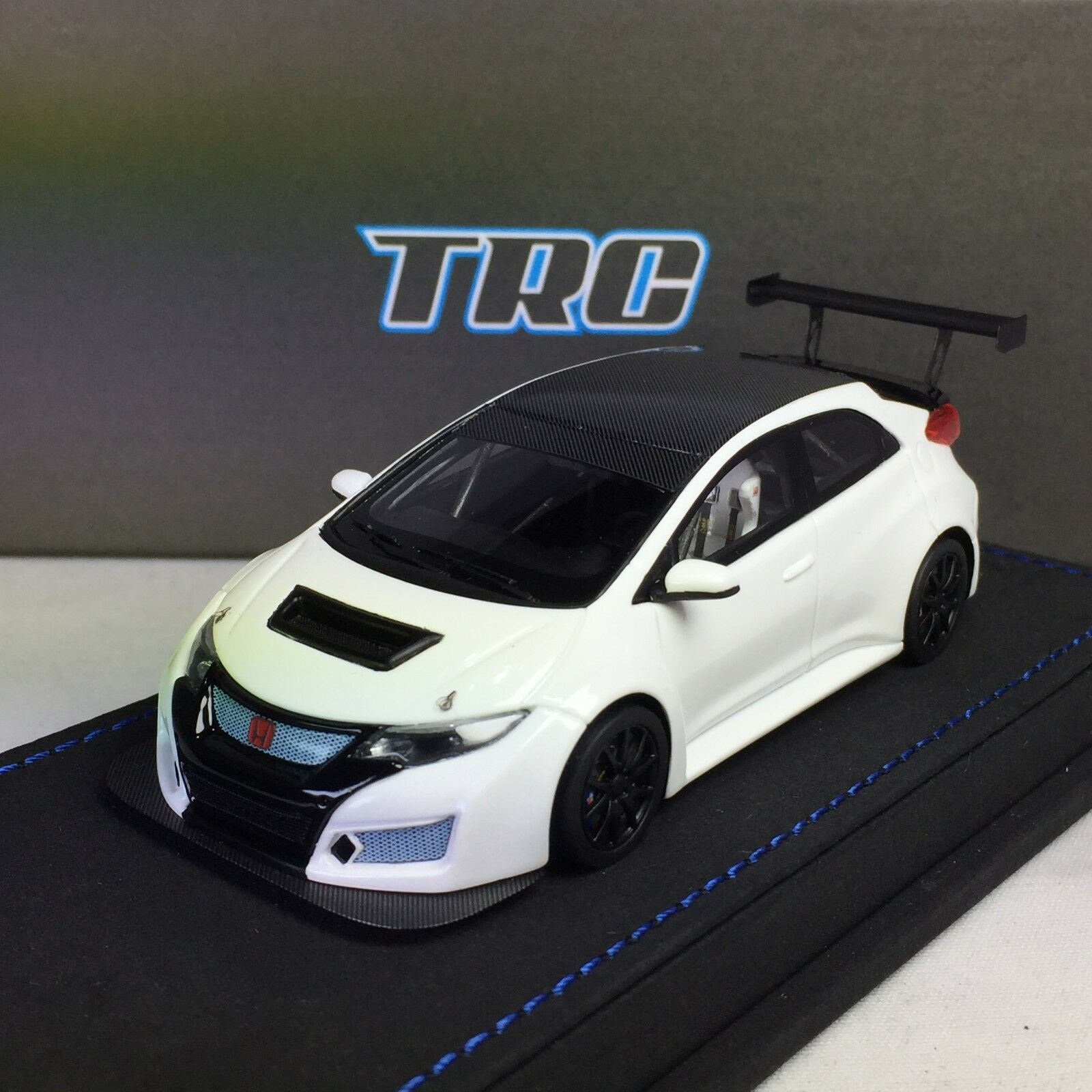 1 43 Peako Honda Civic FK2 TRC Race Test Car JAC 2017 bianca Ltd 100 pcs WTCC
