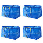 IKEA FRAKTA 4 x Large Reusable Eco Bag Shopping Laundry Tote Travel Storage Bags