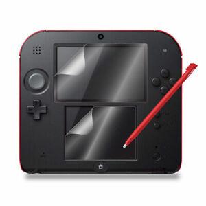 Escudo-protector-de-pantalla-LCD-de-1-Pc-Para-Nintendo-2DS-ultra-Claro