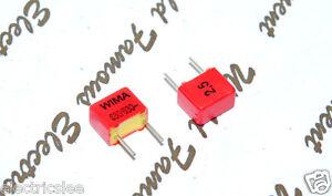 10pcs-WIMA-FKP2-680P-0-68nF-630V-2-5-Pich-5mm-Polypropylen-Folien-Kondensator