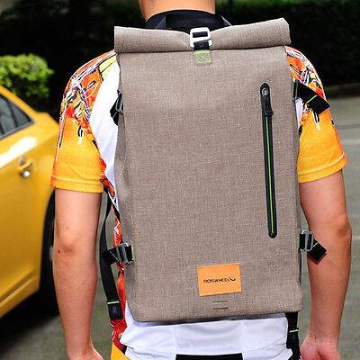 New Retro Cycling Bike Bicycle Backpack Computer Bag 25L Waterproof Handbag