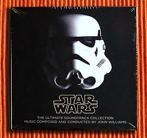 JOHN-WILLIAMS-STAR-WARS-THE-ULTIMATE-CD-COLLECTION-10CD-amp-1DVD-Box-Set-SEALED